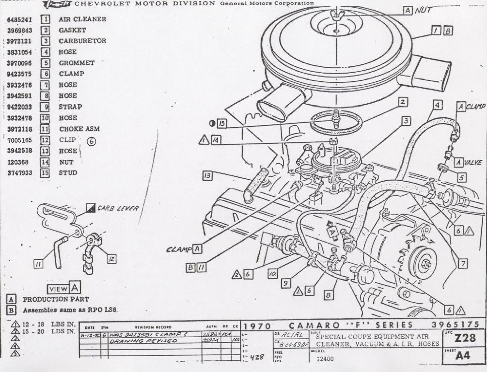 [WR_4653] 1984 Chevy 305 Engine Diagram Schematic Wiring