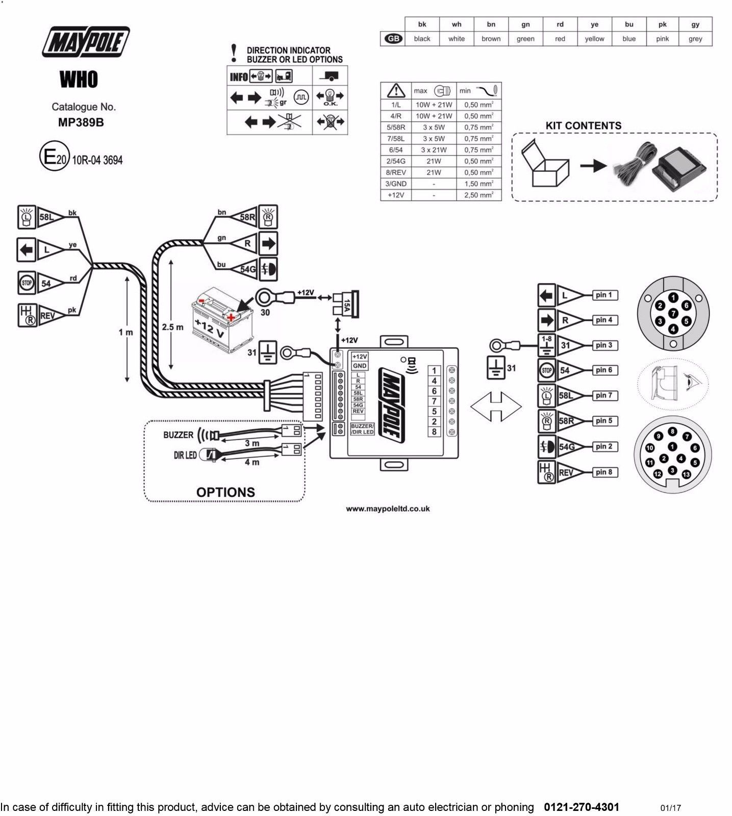 Towing Bypass Relay Wiring Diagram