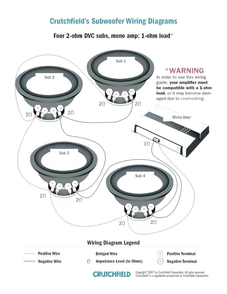 Dvc 4 Ohm Wiring / Amazon Com 2 Rockford Fosgate P2d4 12