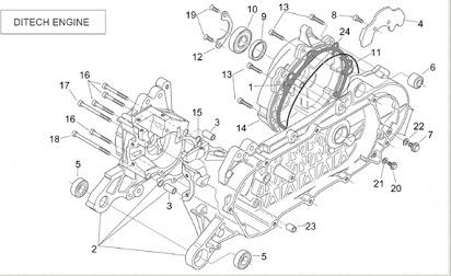 [BE_1495] Aprilia Sr 50 Factory Wiring Diagram Free Diagram