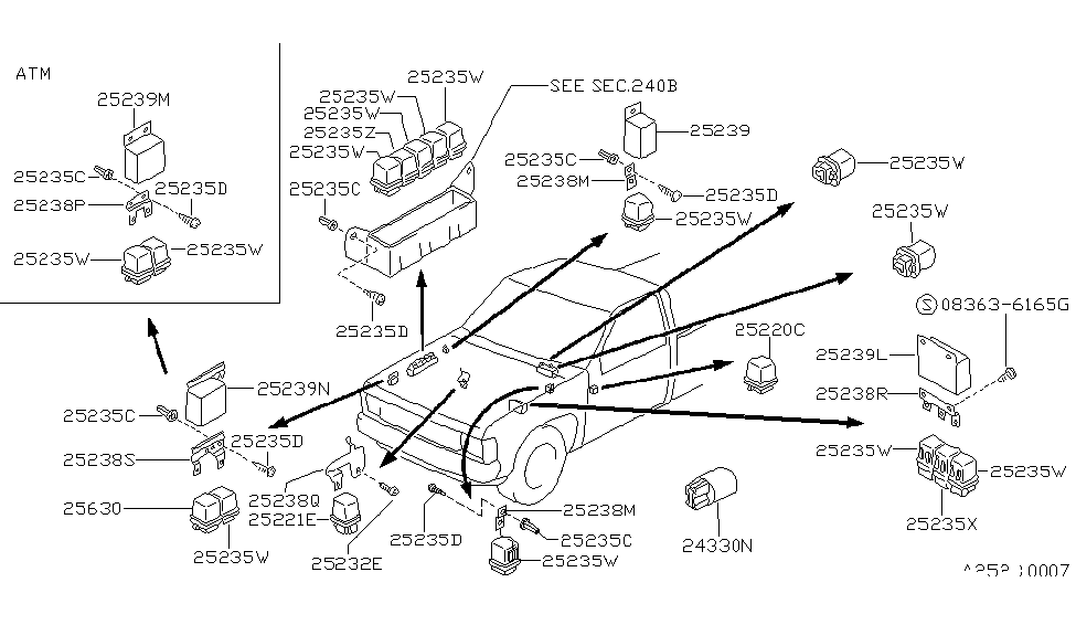 [TV_7928] 1992 Nissan Pickup Parts Wiring Diagram