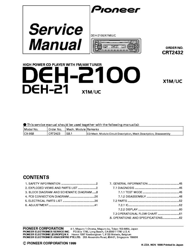 pioneer deh 435 wiring diagram  1974 dodge van wiring