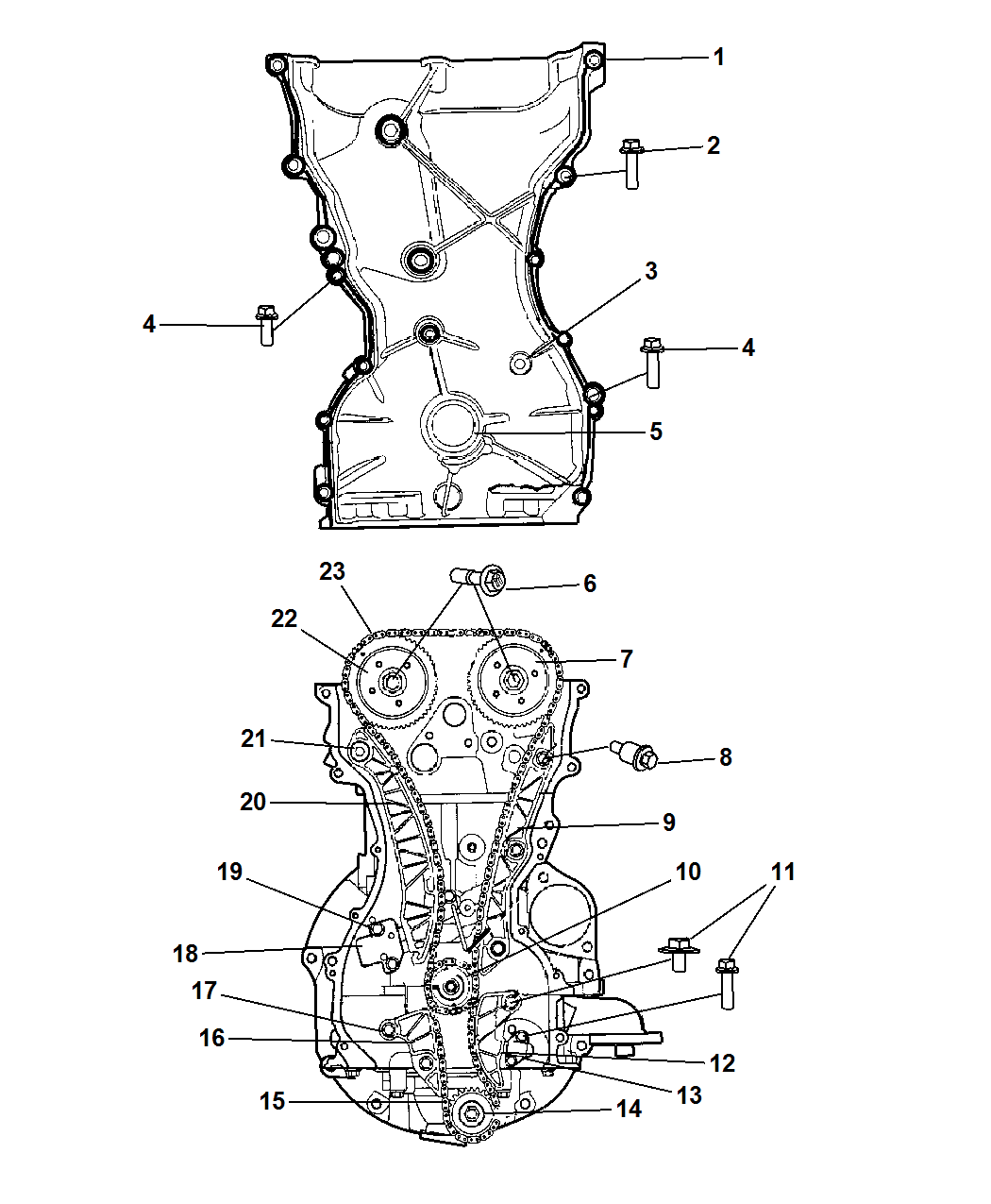 [XD_9002] Engine Timing Chain Diagram Wiring Diagram