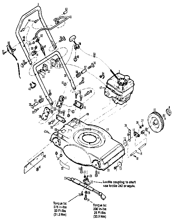 [OS_1910] That All Small Troybilt Lawn Mower Parts Mtd