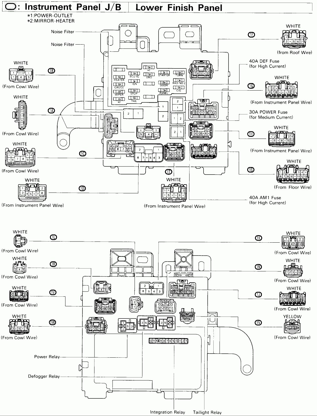 [AZ_7486] Fuse Box Diagram 1995 Zx 600R Download Diagram