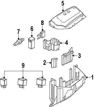 2008 Land Rover Lr2 Fuse Box Diagram / Fuse Box Range