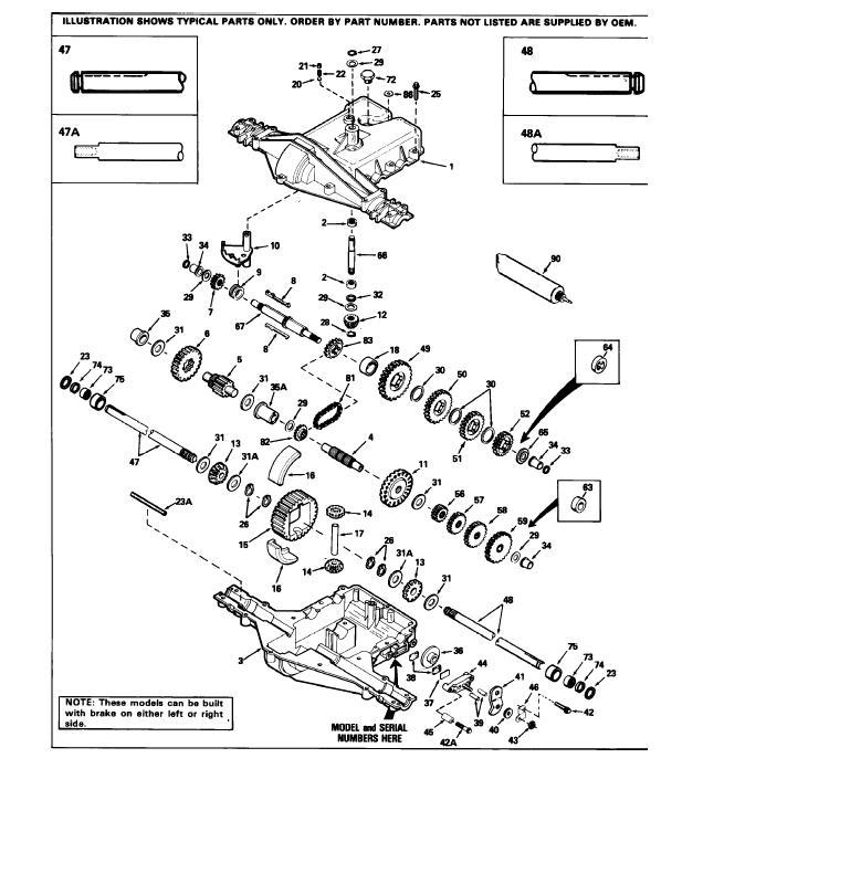 [BC_2912] Peerless Transmission Parts Diagram Schematic Wiring