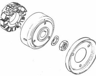 [YL_5532] Rotax Regulator Rectifier 866 080 Wiring Diagram
