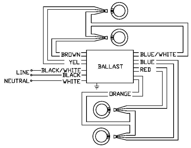 Workhorse Ballast T5 Wiring Diagram / Sign Ballasts Smart