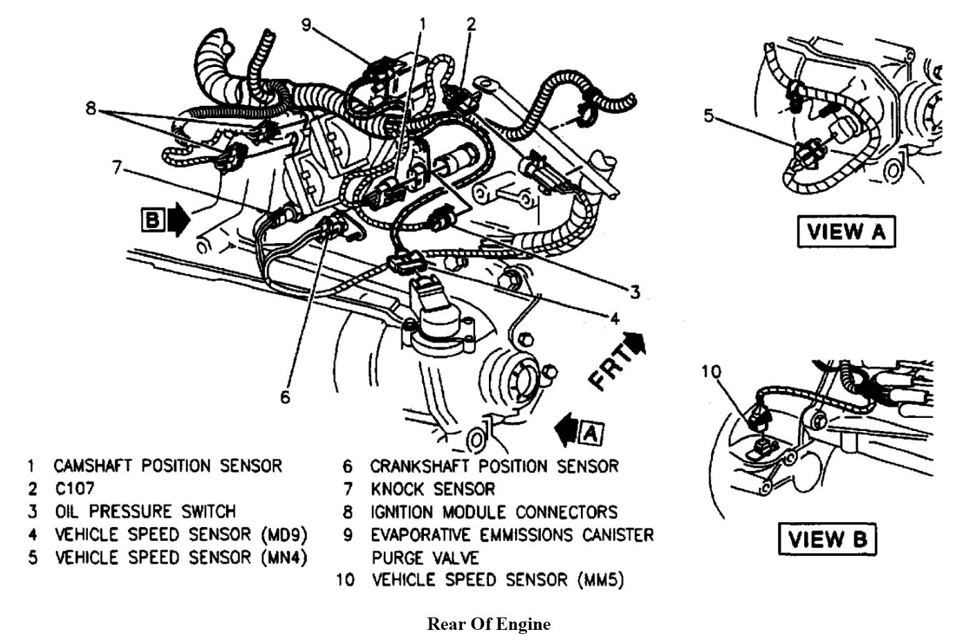 2003 Cavalier Wiring Diagram Of The Pressor Control System