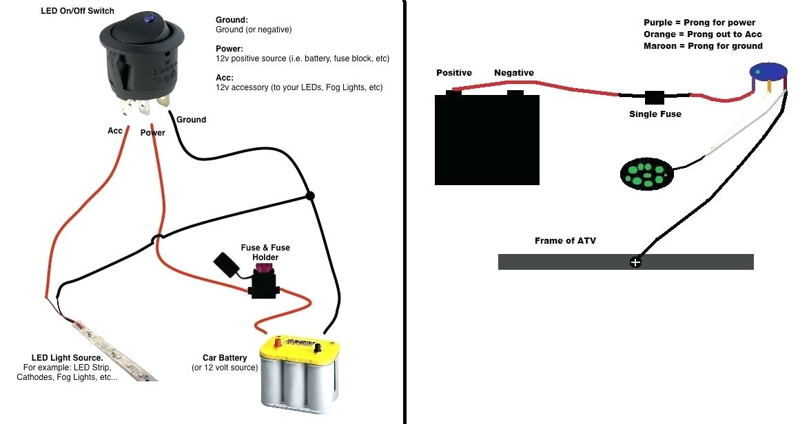 Wiring Diagram Gallery: Off Road Light Switch Wiring Diagram