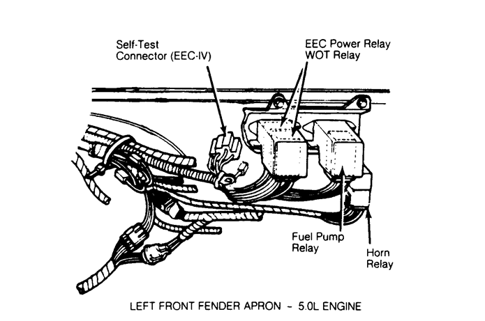 [DV_0239] 1989 Mercury Grand Marquis Engine Diagram Wiring