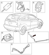 Ford Windstar Fuel Filter / Fuel Filters For 2003 Ford