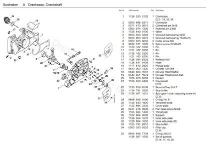 [GB_0510] Stihl Chainsaw Carburetor Diagram Stihl Free