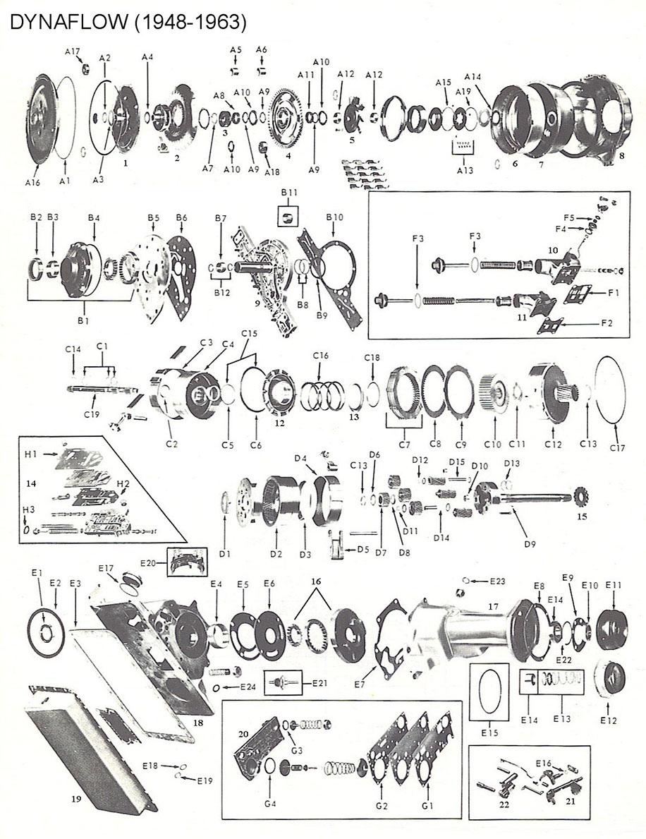 [VN_1727] Ford C6 Transmission Parts Diagram Download Diagram