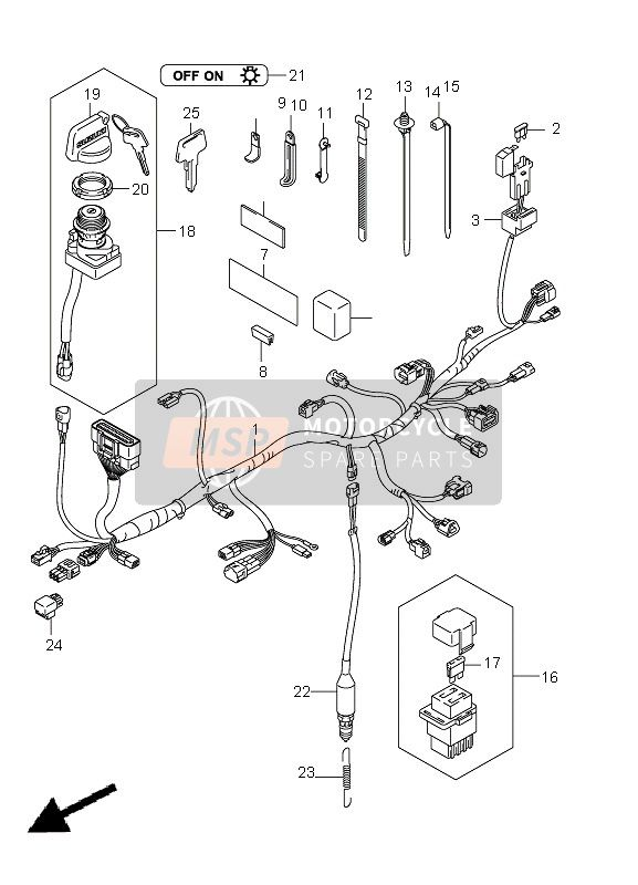 Wiring Diagram Ltz 400 2004 : Suzuki Quadsport Z400