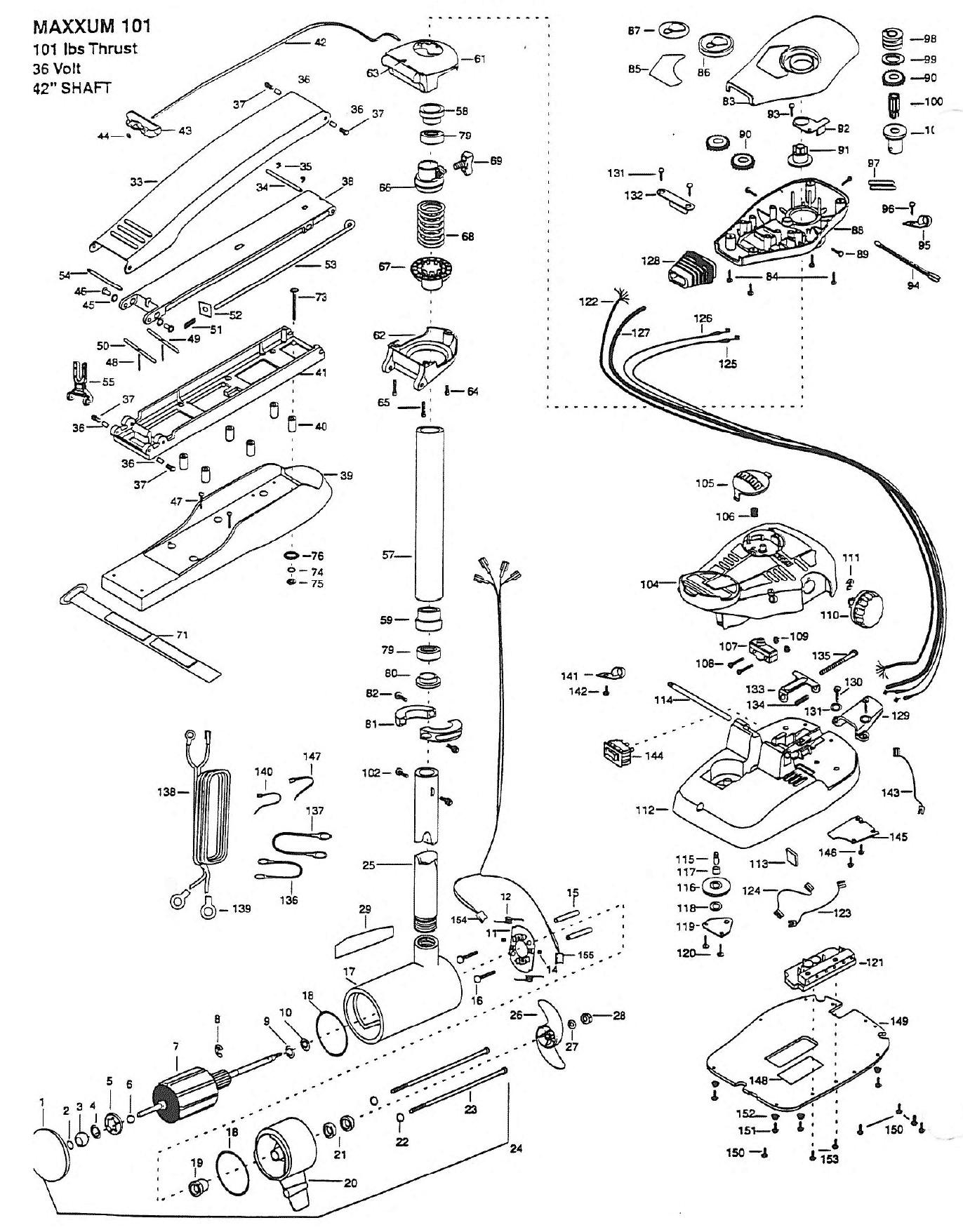 Minnkota 55tx Wiring Diagram