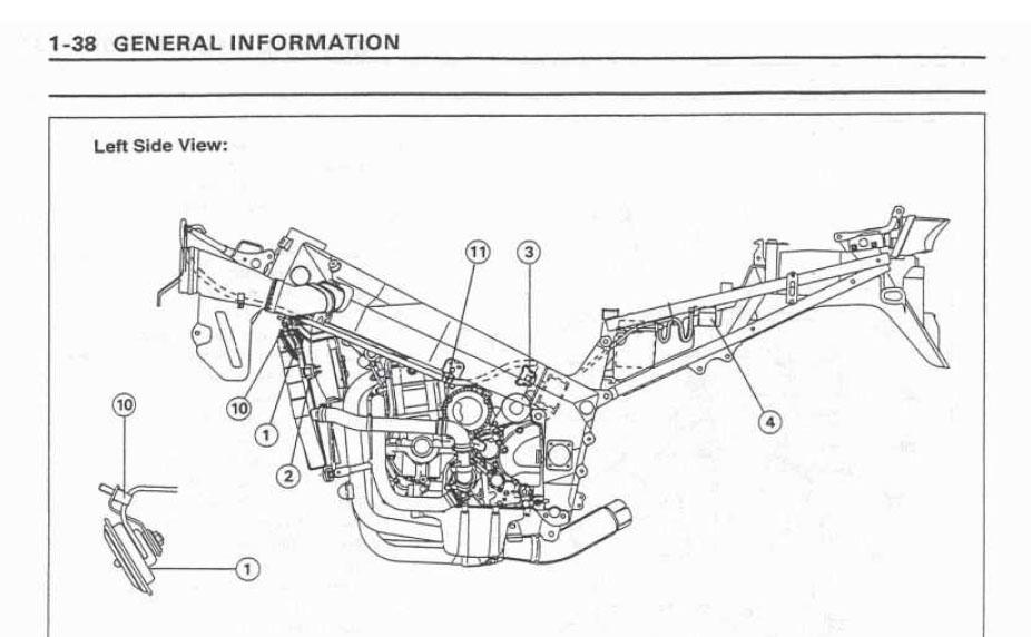 [HH_9348] Kawasaki Zzr 400 Wiring Diagram Schematic Wiring