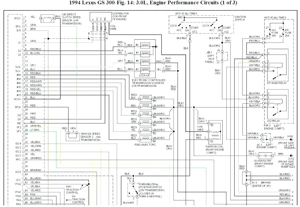 [DIAGRAM] 1996 Lexus Gs 30wiring Diagram Manual Original