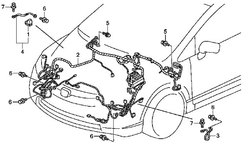 Honda Civic Wiring Harness Diagram / Diagram Honda Civic