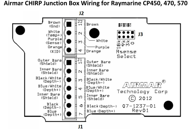 [VX_4273] Raymarine Transducer Wiring Diagram Schematic Wiring