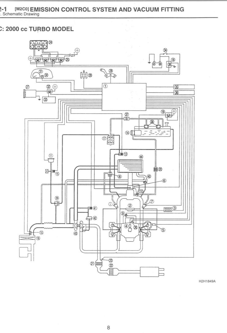 [WR_5478] 2005 Subaru Legacy Turbo Vacuum Diagram Free Diagram