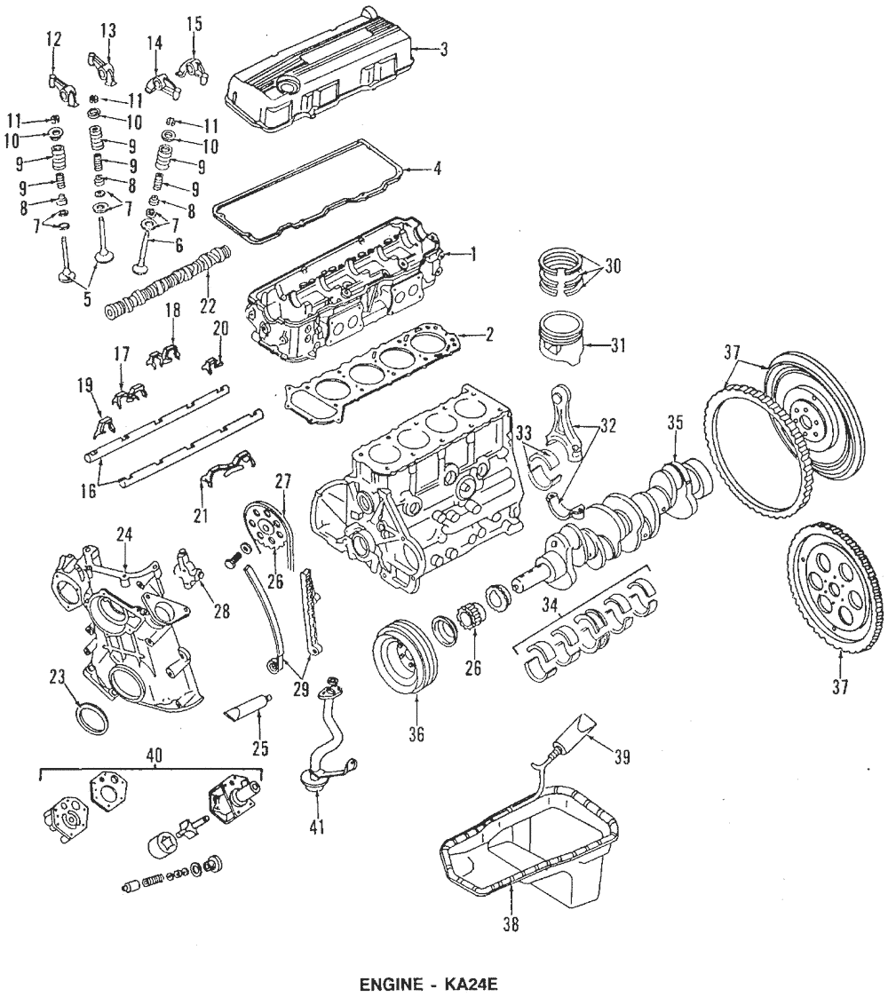[OV_9422] Ka24E Engine Diagram Schematic Wiring