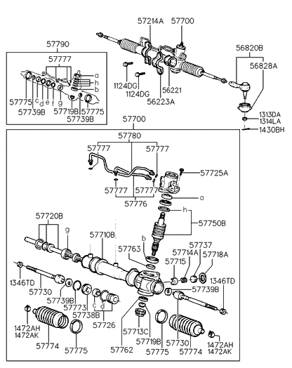 [WX_7142] Power Steering Gear Box Diagram Schematic Wiring
