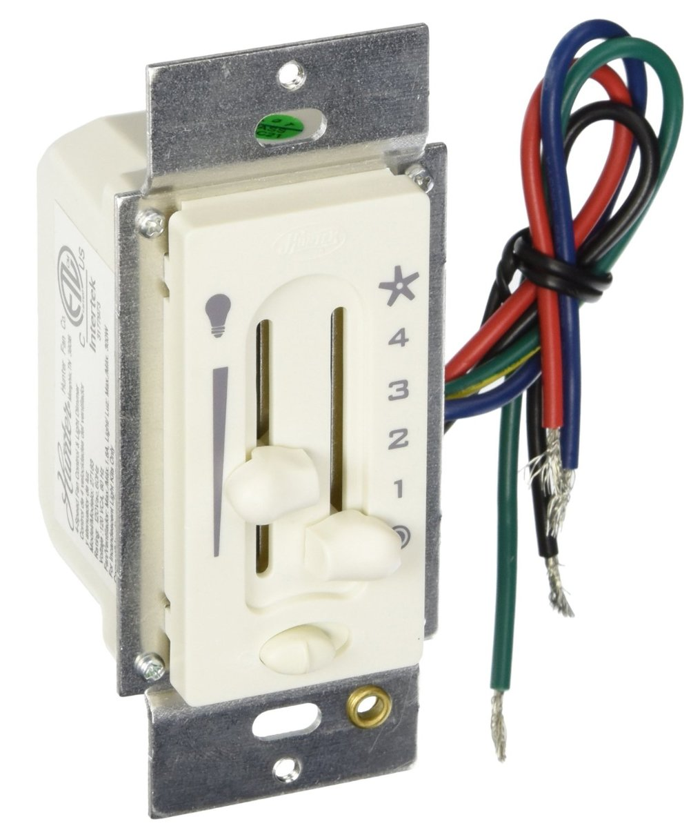 How To Install A Ceiling Fan And Light Dimmer Switch
