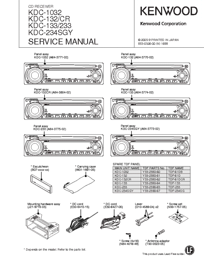 kenwood kdc 200u wiring diagram  haulmark wiring diagram