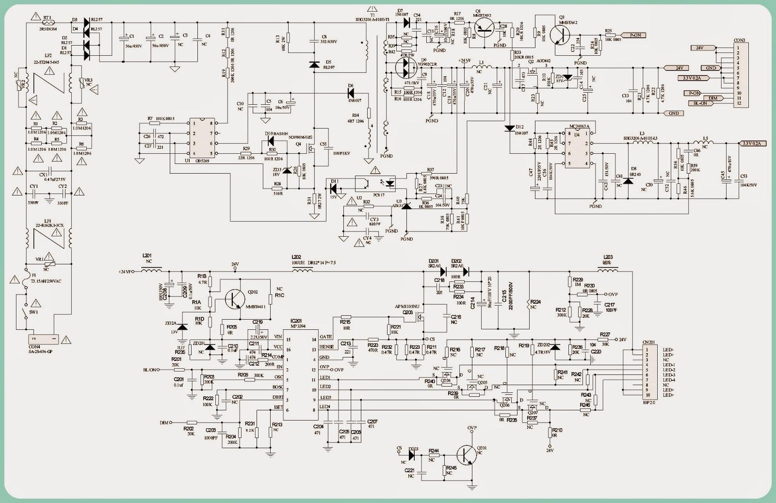 Sr Inverterblockdiagramlg Schematic Wiring