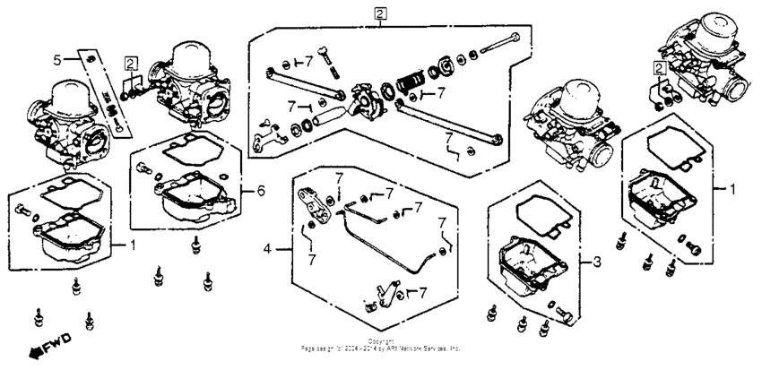 [NZ_4033] Honda Motorcycle Carburetor Diagram Schematic Wiring