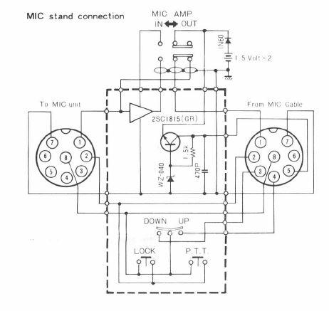[KV_8652] Cb Radio Mic Wiring Kenwood Mc 60 Wiring Diagram