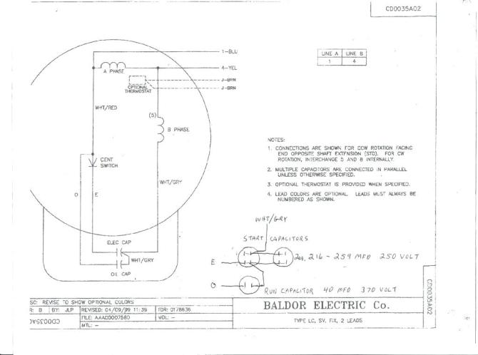 xo9078 doerr electric motors wiring diagram on 230v single