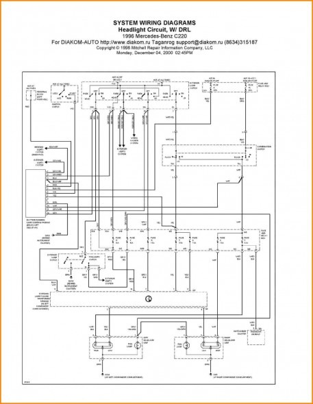free mercedes benz wiring diagrams  wiring diagram for dual