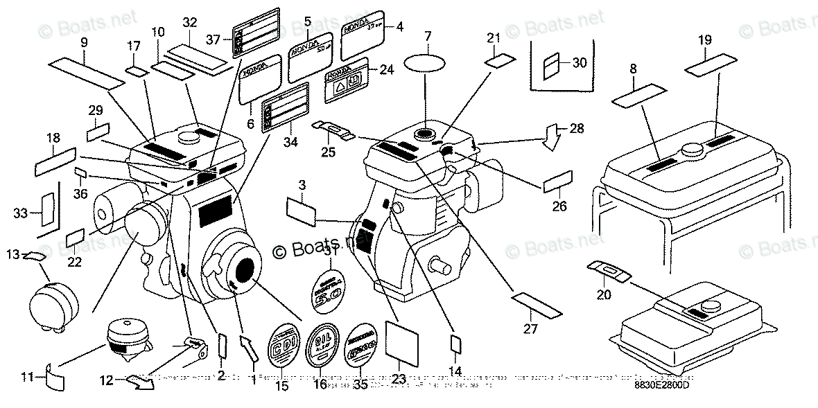 [CE_1627] Honda Gx390 Engine Parts With Diagram Wiring Diagram