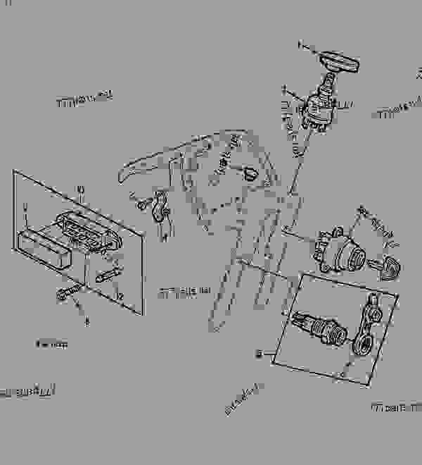 [VW_0383] 770 John Deere Fuse Box Download Diagram