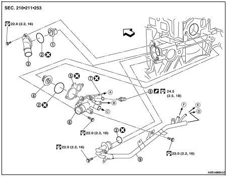 Nissan Altima 2 5 Engine Diagram : 2003 Nissan Altima 2 5
