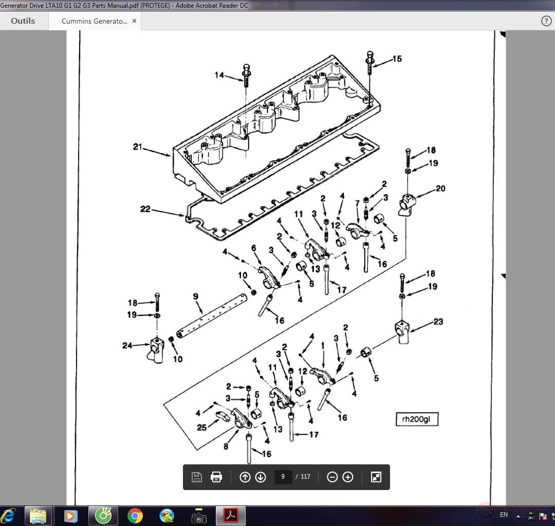 [ZA_0724] Cummins Qsx15 Generatordrive Control System