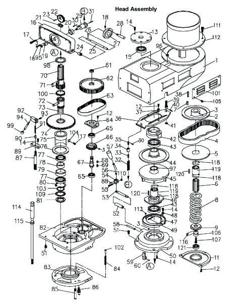 [MM_7574] Bridgeport Mill Wiring Diagram Free Diagram