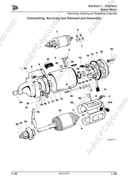 [AK_1282] Jcb Wiring Schematic Furthermore Engine Repair