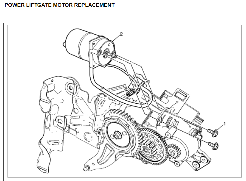 [DR_3780] Chevy Tahoe Tailgate Parts Diagram Wiring Diagram