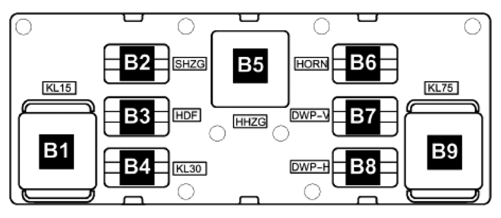 [EM_8964] Relay Switch For Vw Passat Schematic Wiring