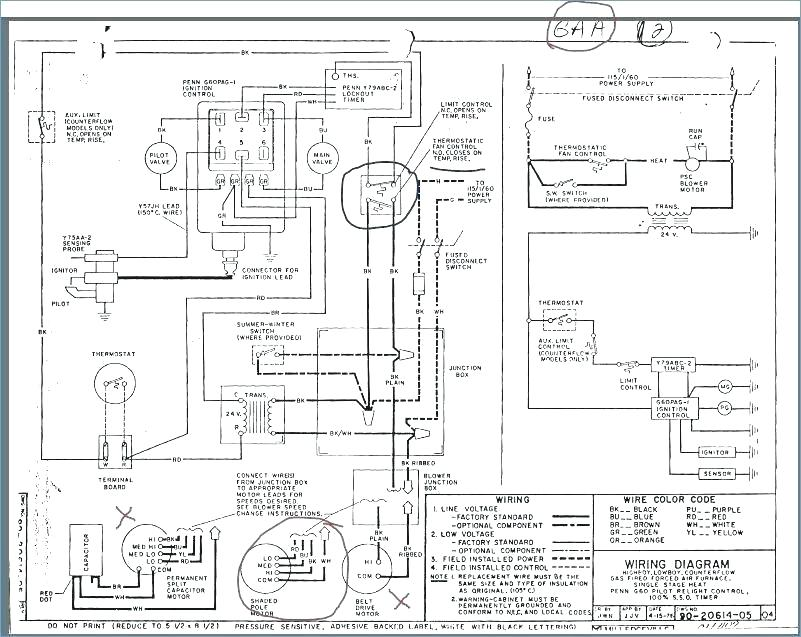 [NC_0294] Furnace Diagram And Parts List For Coleman Evcon