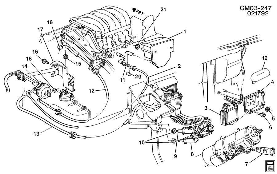 1992 Buick Lesabre Engine Diagram : 1995 Buick Lesabre