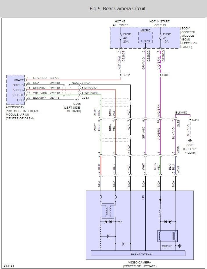 Ford F150 Backup Camera Wiring Diagram : backup, camera, wiring, diagram, Camera, Wiring, Diagram, Center, Storage-bulletin, Storage-bulletin.iosonointersex.it