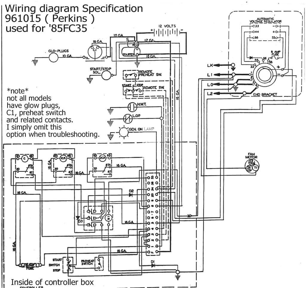 Kohler 20kw Generator Wiring Diagram