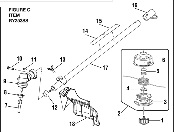 [ED_4774] Ryobi Weed Eater Parts Diagram On Ryobi Air Box