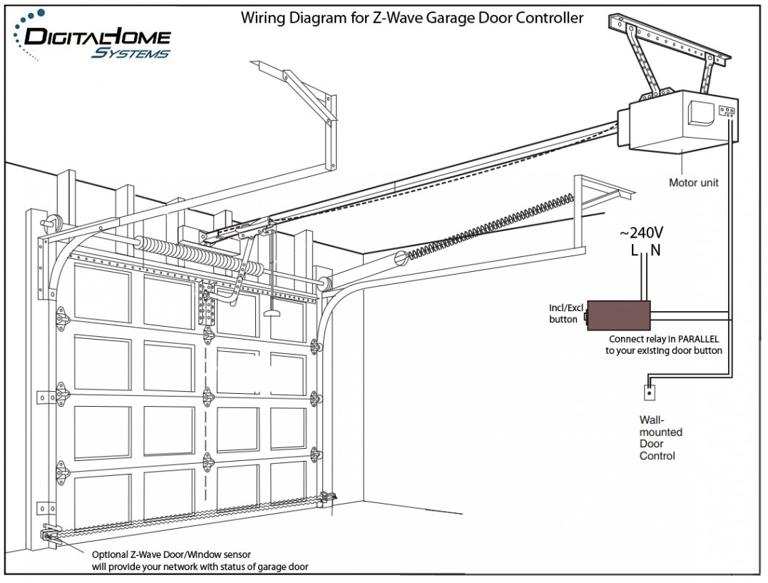 Wiring Diagram For Chamberland Opener