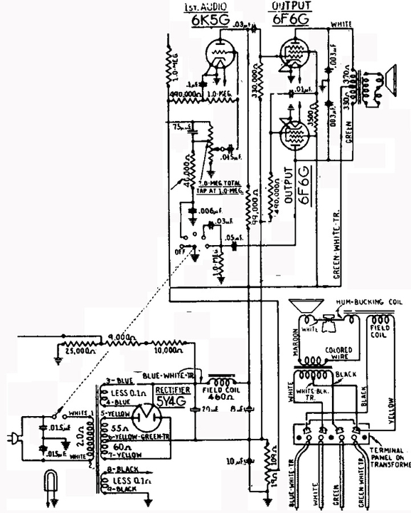 [BO_6060] Pull Pp El84 Tube Amplifier Schematic Other Push